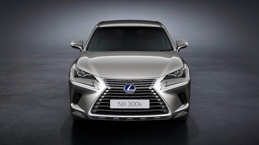 Lexus unveils NX300h Luxury, NX300h F-Sport in India